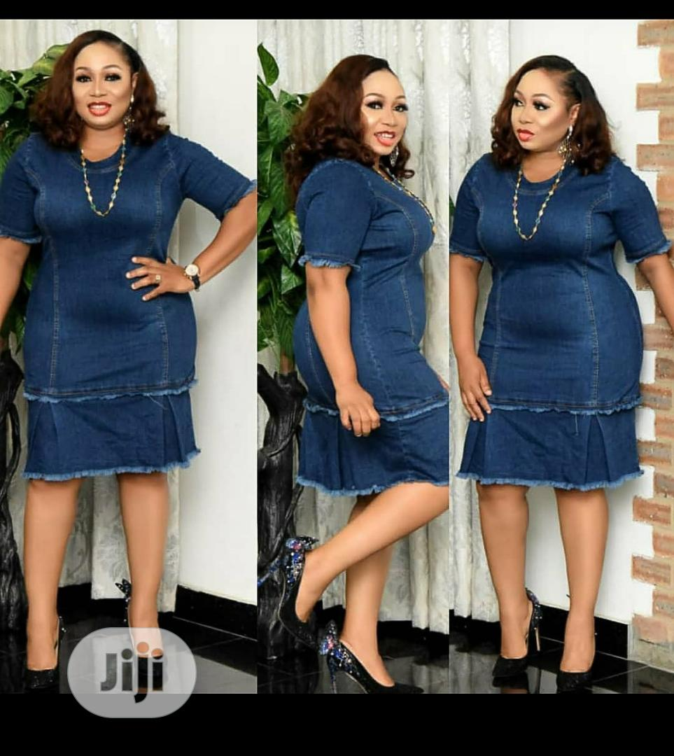 Jeans Gown | Clothing for sale in Magodo, Lagos State, Nigeria
