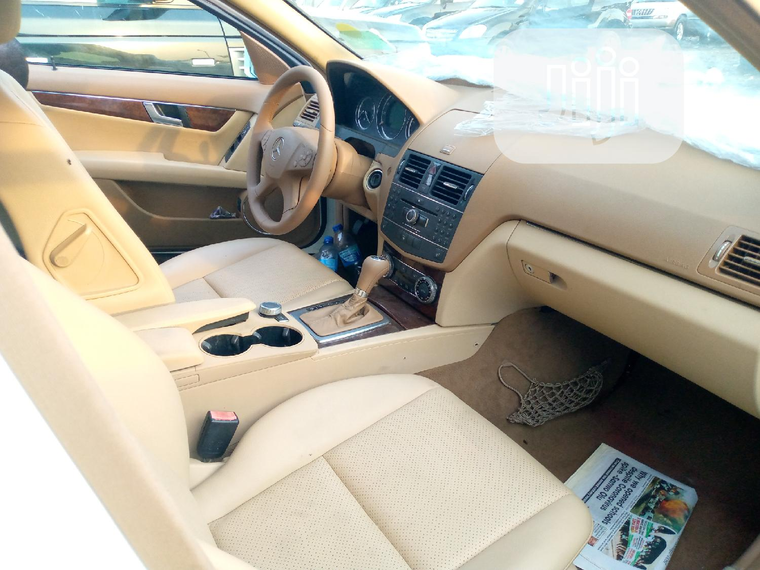 Mercedes-Benz C300 2010 White | Cars for sale in Apapa, Lagos State, Nigeria