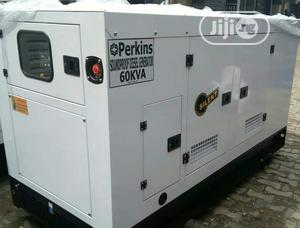 Original 60kva Soundproof Perkins Diesel Generator | Electrical Equipment for sale in Lagos State, Ibeju