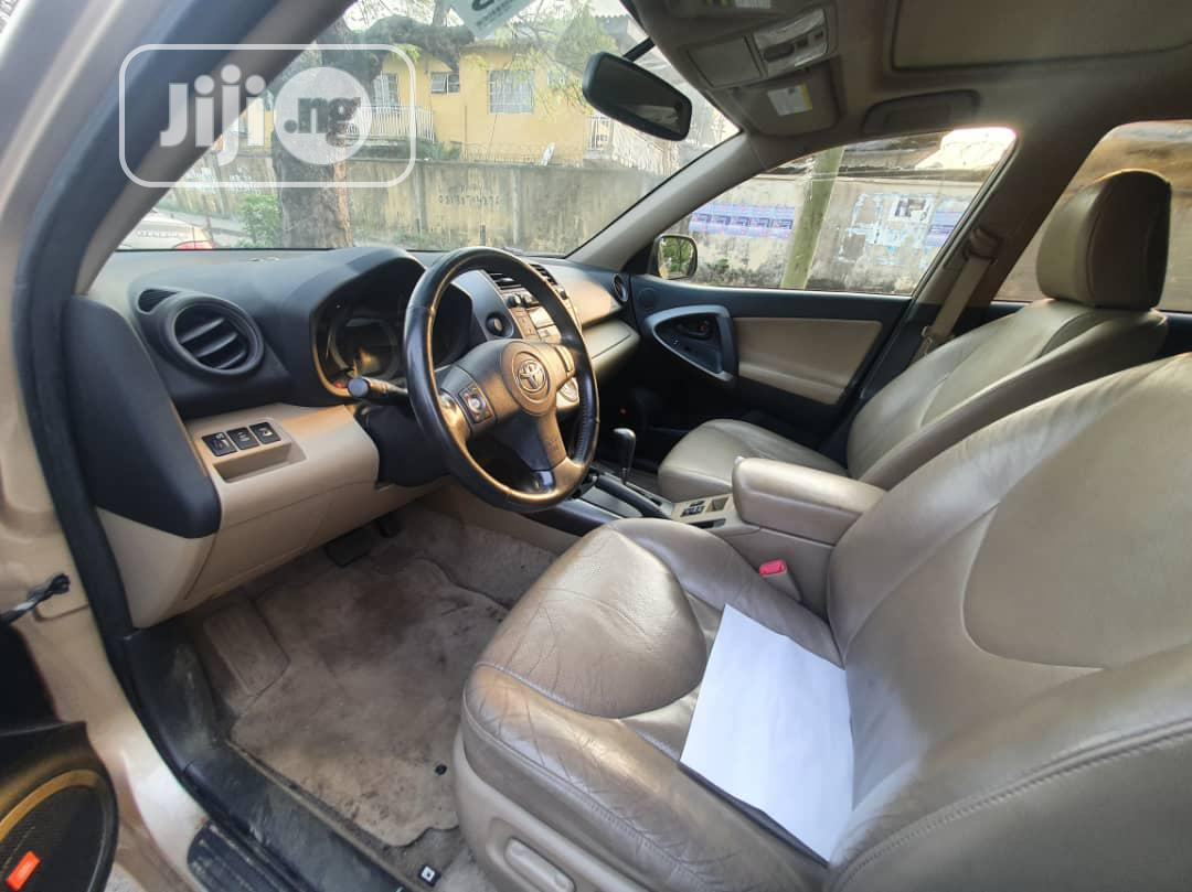 Toyota RAV4 2010 Gold   Cars for sale in Surulere, Lagos State, Nigeria