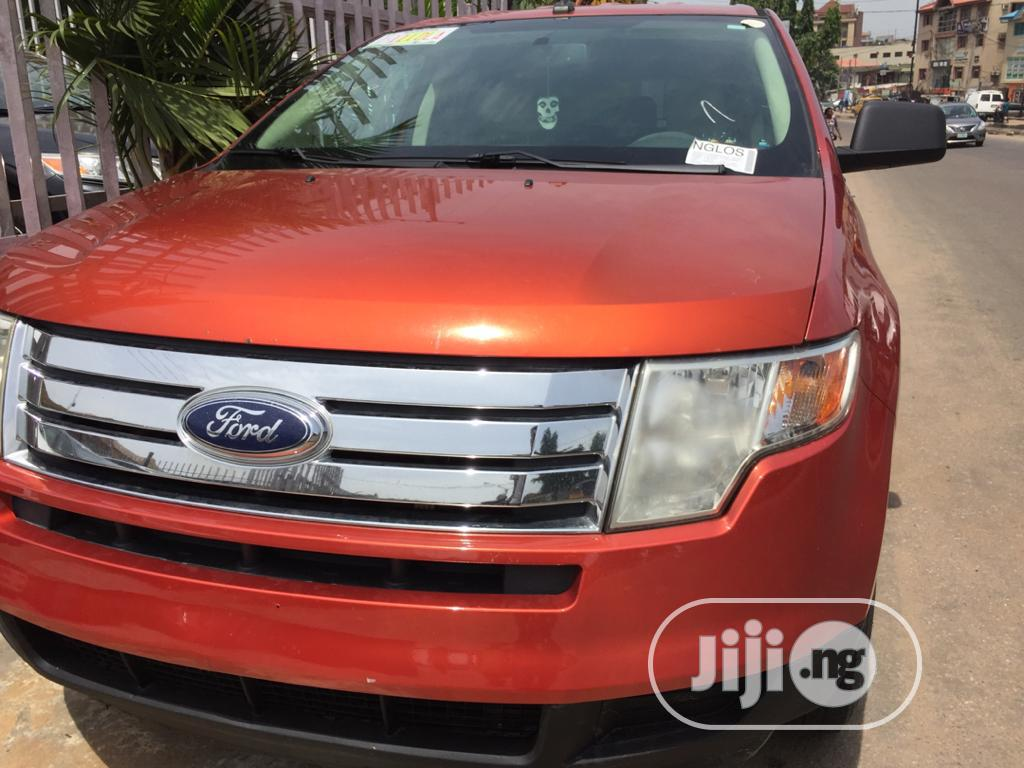Ford Edge 2007 Orange