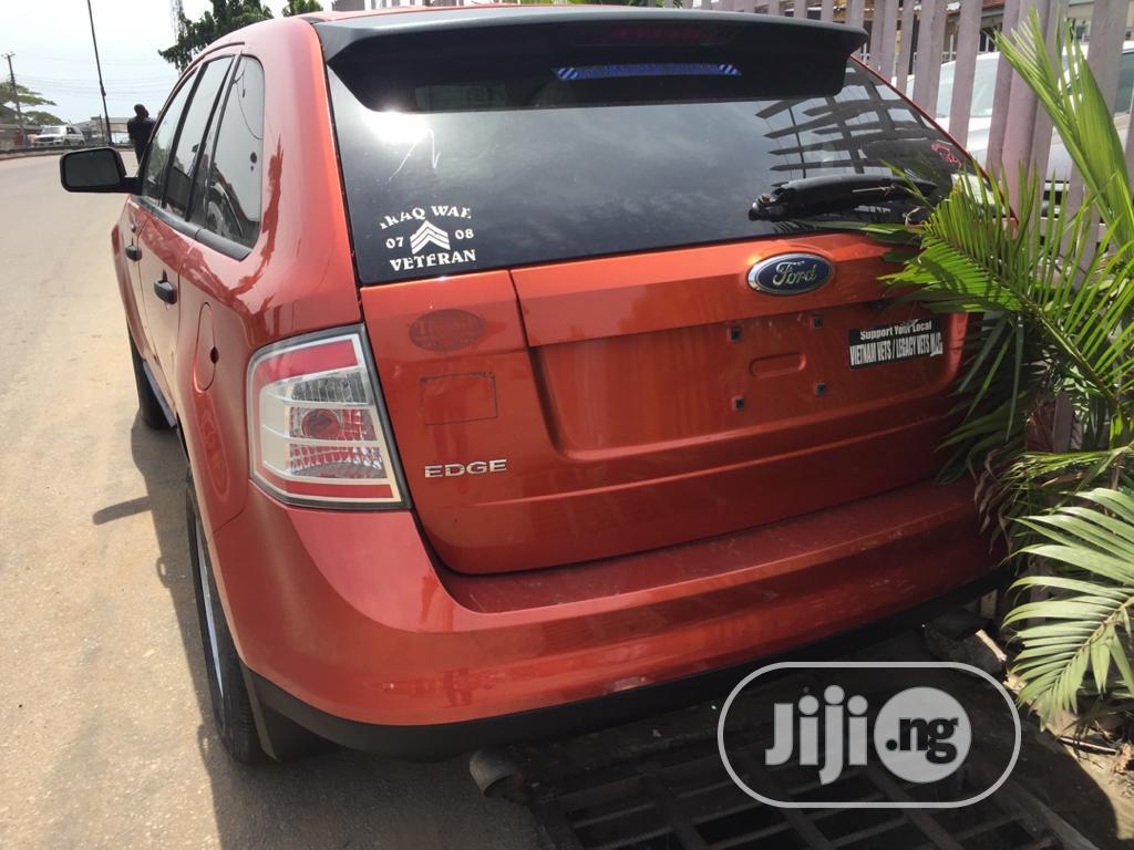 Ford Edge 2007 Orange | Cars for sale in Ikeja, Lagos State, Nigeria