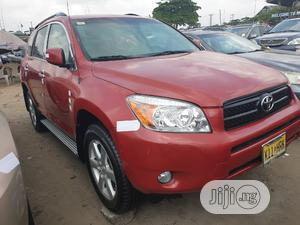 Toyota RAV4 2007 Limited V6 4x4 Red | Cars for sale in Lagos State, Apapa