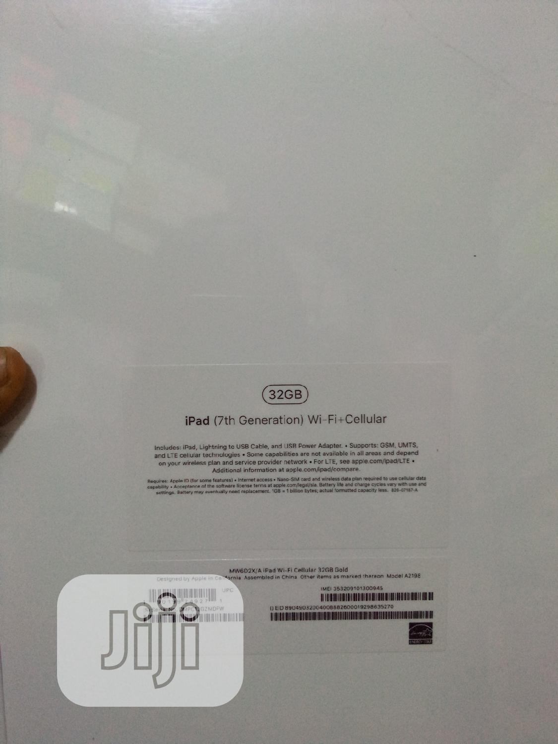 New Apple iPad 10.2 (2019) 32 GB | Tablets for sale in Ikeja, Lagos State, Nigeria