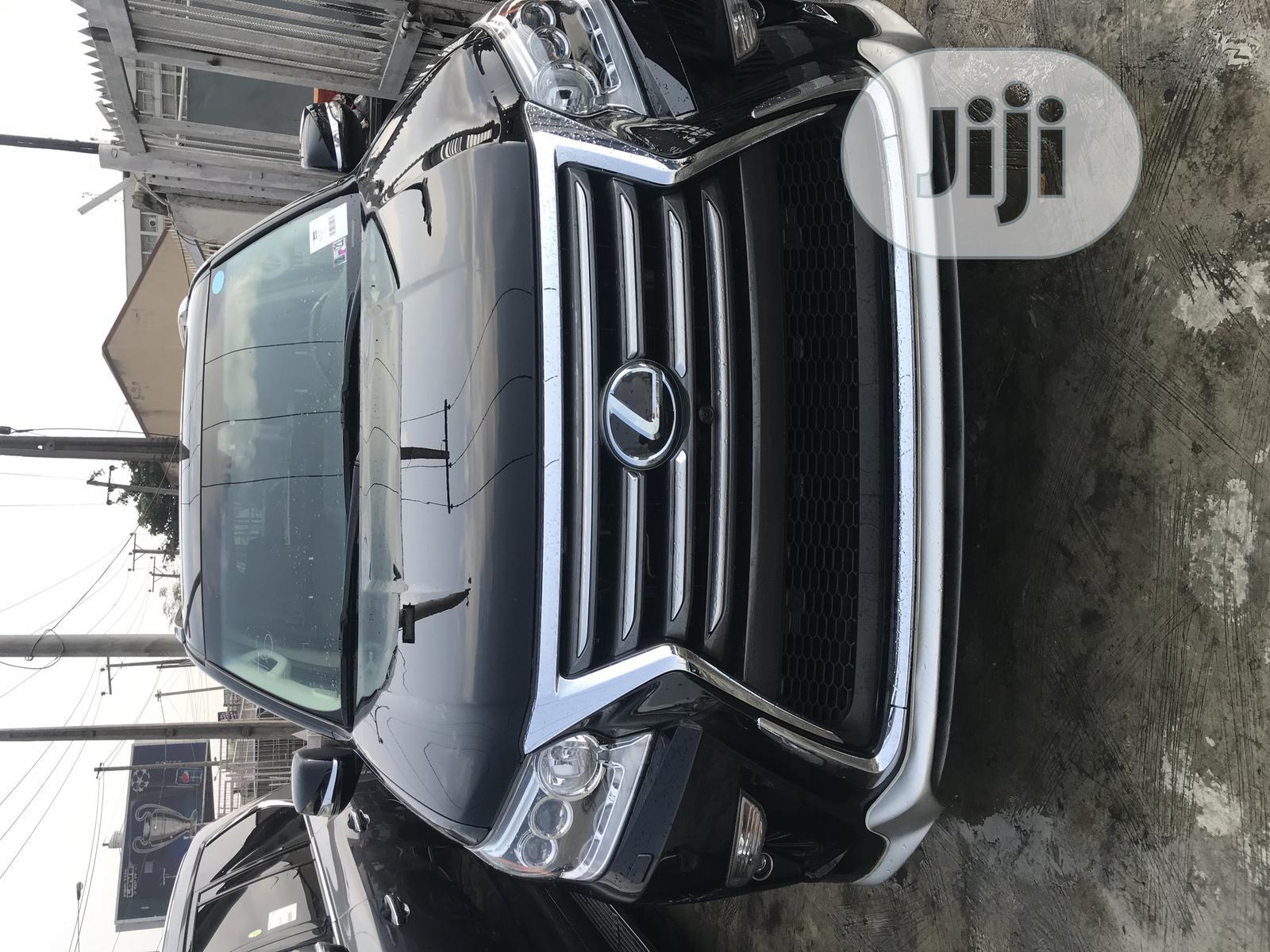 Lexus LX 2017 570 Base Black   Cars for sale in Ikeja, Lagos State, Nigeria