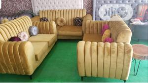 Quality Fabric Complete Set of Sofa Chair | Furniture for sale in Abuja (FCT) State, Central Business District