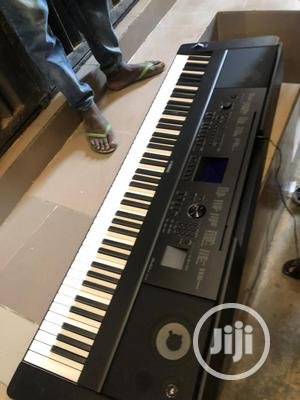 DGX 660B Yamaha Keyboard With Stand,Adopter Pedal | Musical Instruments & Gear for sale in Lagos State, Ojo