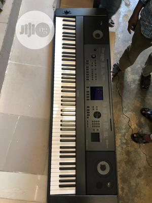 DGX 660B Yamaha Keyboard With Stand,Adopter Pedal   Musical Instruments & Gear for sale in Lagos State, Ojo