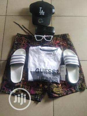 Jeans Trouser, Leather Belt, White Sneakers, Wristwatch   Clothing for sale in Ogun State, Abeokuta South