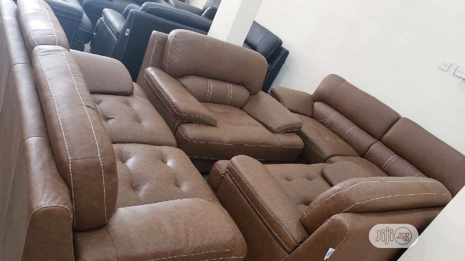 Leather Sofa Chair by 7 Seaters