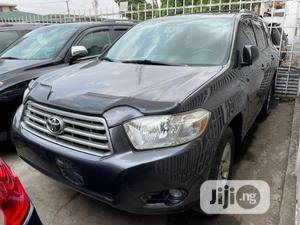 Toyota Highlander 2008 4x4 Gray | Cars for sale in Lagos State, Magodo