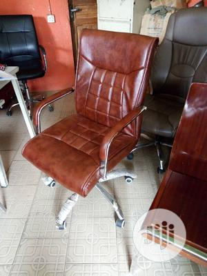 Office Chair Brown   Furniture for sale in Lagos State, Amuwo-Odofin
