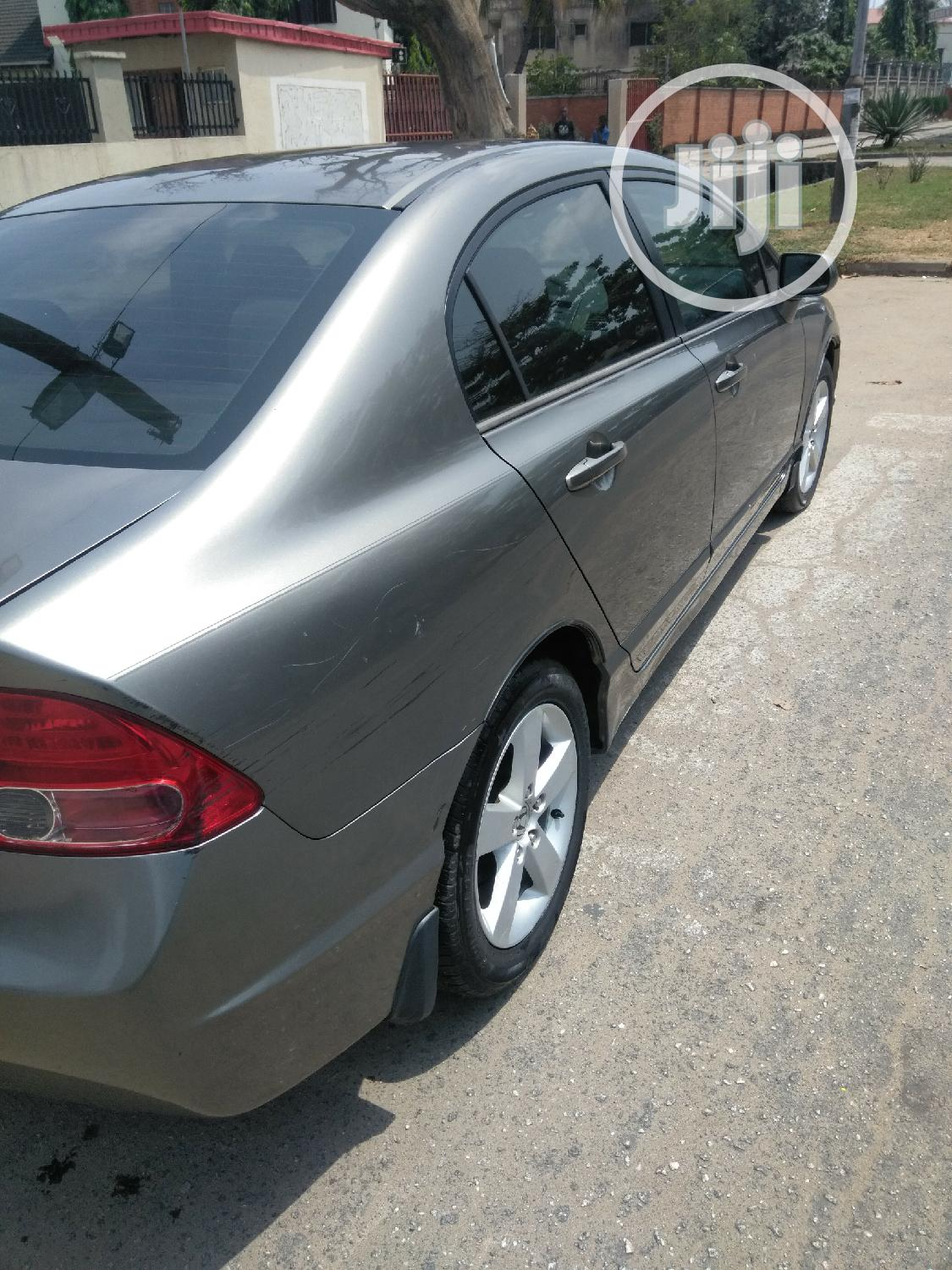 Honda Civic 2007 1.8 Sedan EX Automatic Gray | Cars for sale in Amuwo-Odofin, Lagos State, Nigeria