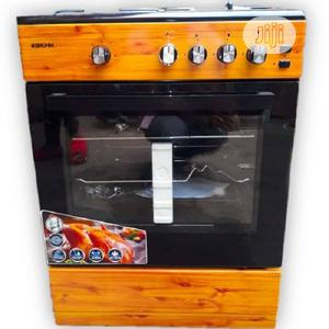 Bruhm Standing 4 Gas Cooker Oven Grill + Auto Ignition   Kitchen Appliances for sale in Lagos State, Ikeja