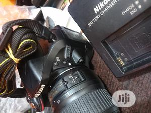 Clean Nikon D5200 DSLR Camera With 18-55 Mm Lens | Photo & Video Cameras for sale in Lagos State, Ikeja