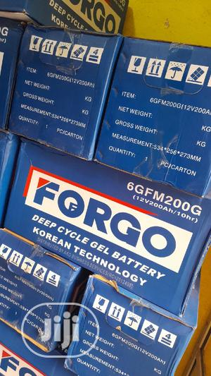 Forgo 200ah Battery | Solar Energy for sale in Lagos State, Ajah