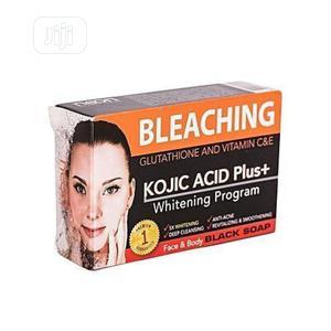 Kojic Acid Soap Bleaching/Whitening Soap/ Black Soap | Skin Care for sale in Lagos State, Alimosho