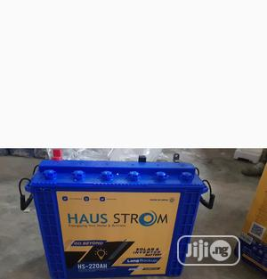 Haus Strom Tubular Battery 12v220ah   Electrical Equipment for sale in Lagos State, Ikeja