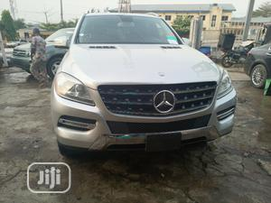 Mercedes-Benz M Class 2012 ML 350 4Matic Silver | Cars for sale in Lagos State, Ikeja