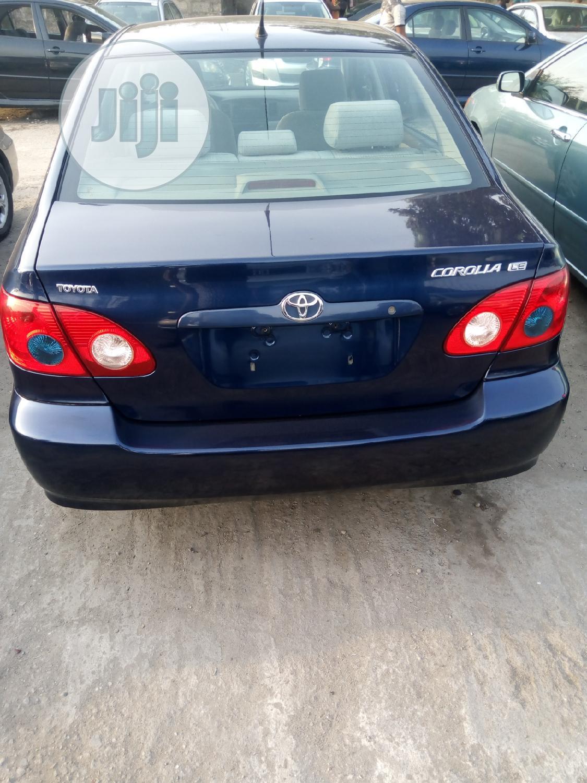 Toyota Corolla 2006 Blue | Cars for sale in Apapa, Lagos State, Nigeria