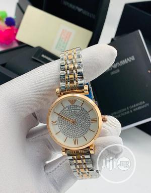 Original Stainless Steel Emporio Armani Wristwatches | Watches for sale in Lagos State, Lagos Island (Eko)