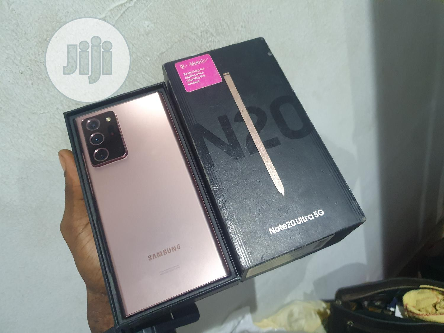 New Samsung Galaxy Note 20 Ultra 5G 128GB Pink | Mobile Phones for sale in Ibadan, Oyo State, Nigeria
