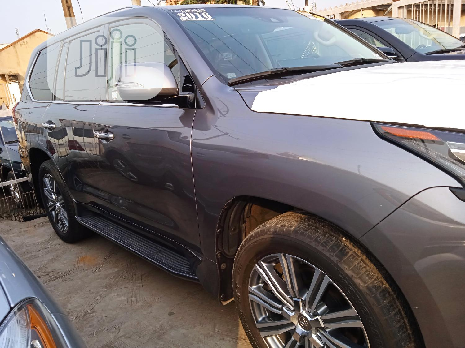 Lexus LX 2016 570 Base Gray | Cars for sale in Ikeja, Lagos State, Nigeria