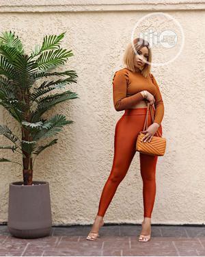 Quality Turkey Ladies Burnt Orange Leggings | Clothing for sale in Lagos State, Ifako-Ijaiye
