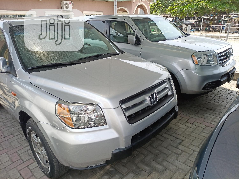 Honda Pilot 2006 EX-L 4x2 (3.5L 6cyl 5A) Silver   Cars for sale in Amuwo-Odofin, Lagos State, Nigeria