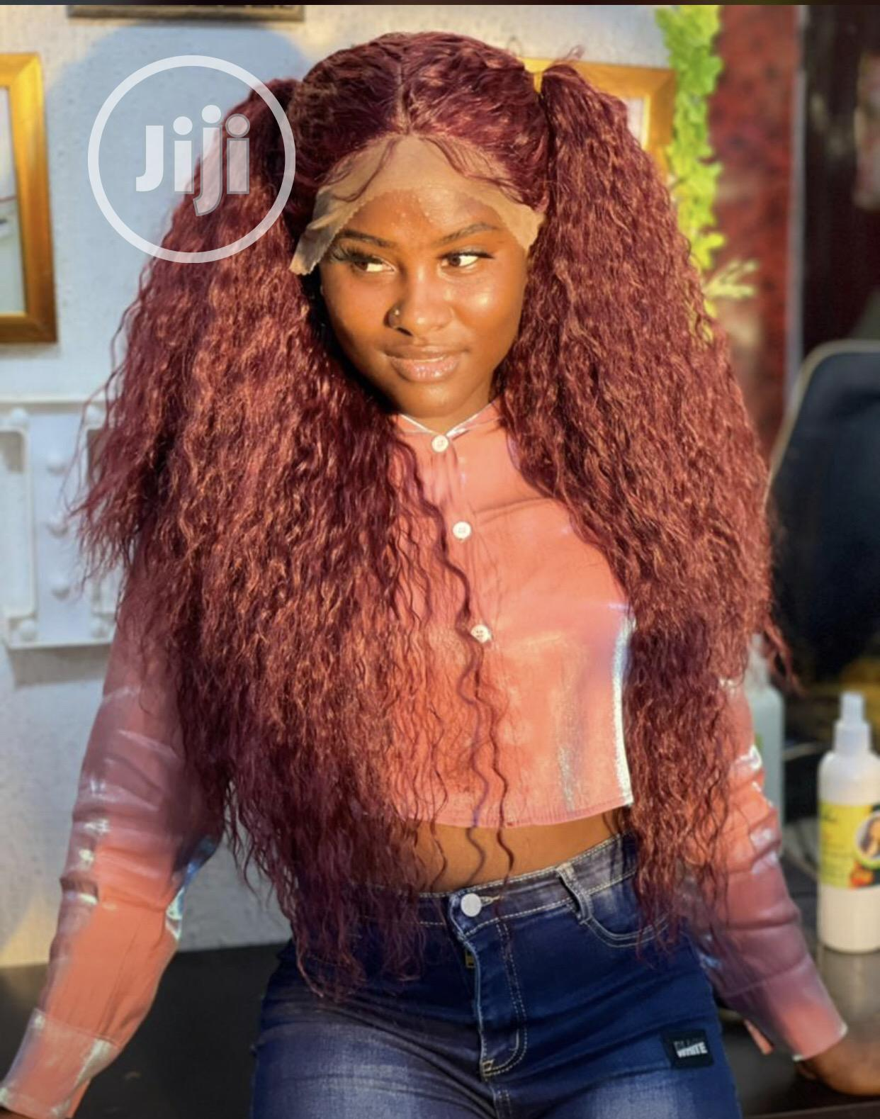 Archive: Kinky Curl Wig