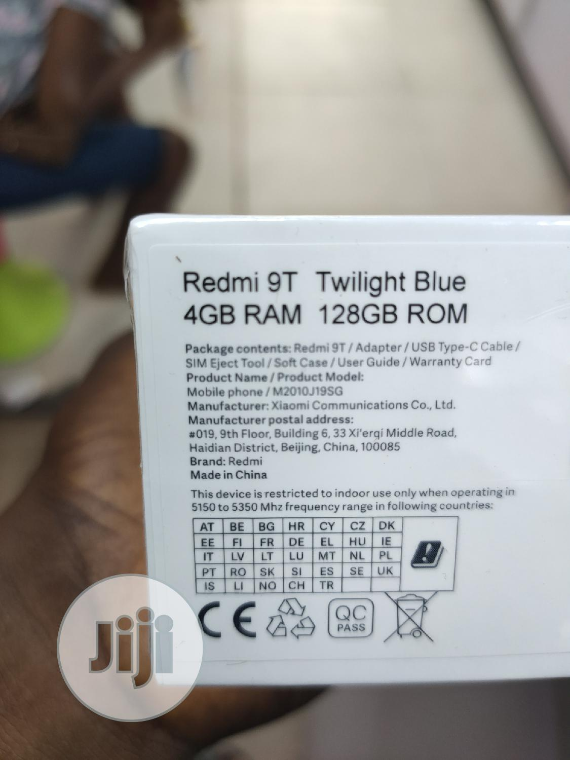 New Xiaomi Redmi 9T 128 GB Other   Mobile Phones for sale in Ikeja, Lagos State, Nigeria