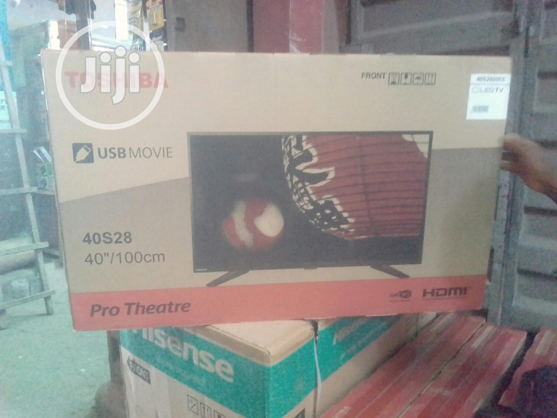 """Toshiba 40"""" PRO THEATRE FULL HD LED (3 Years Warranty)"""