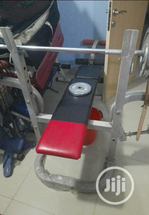 Weight Lifting Bench With Dumb Bells | Sports Equipment for sale in Lagos State, Yaba