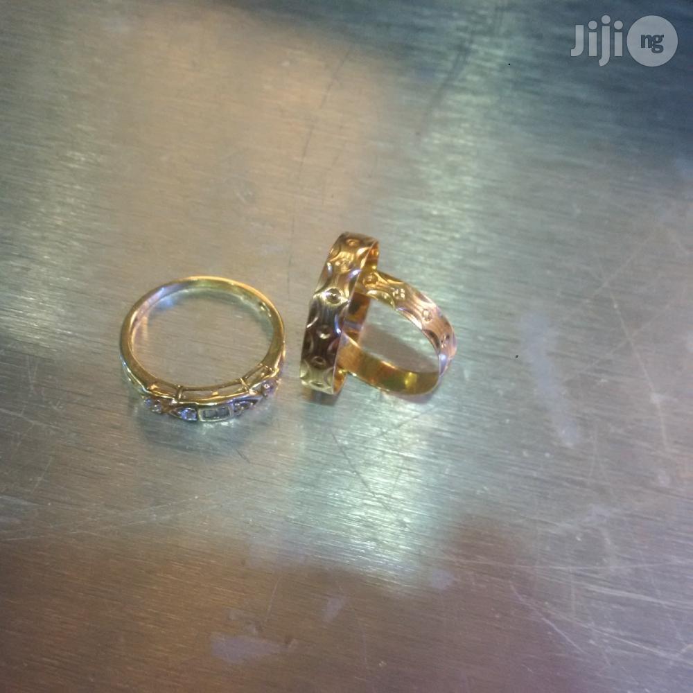 Pure Italy 750 Original 18krat Wedding Ring Set 2