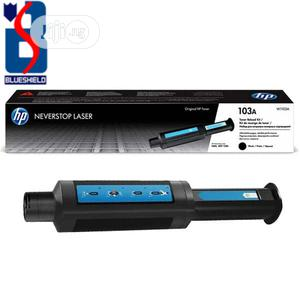 HP 103A Black Original Neverstop Laser Toner Reload Kit | Accessories & Supplies for Electronics for sale in Lagos State, Ikeja