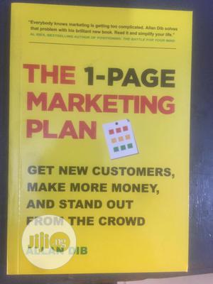 The 1-page Marketing Plan   Books & Games for sale in Lagos State, Surulere