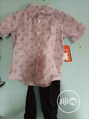 Alex & Jack 2 Pieces Set For Boys, Shirt And Joggers Trouser   Children's Clothing for sale in Lagos State, Isolo