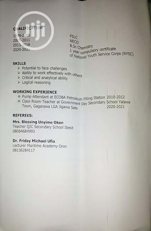 Healthcare Nursing CV | Healthcare & Nursing CVs for sale in Akwa Ibom State, Oruk Anam