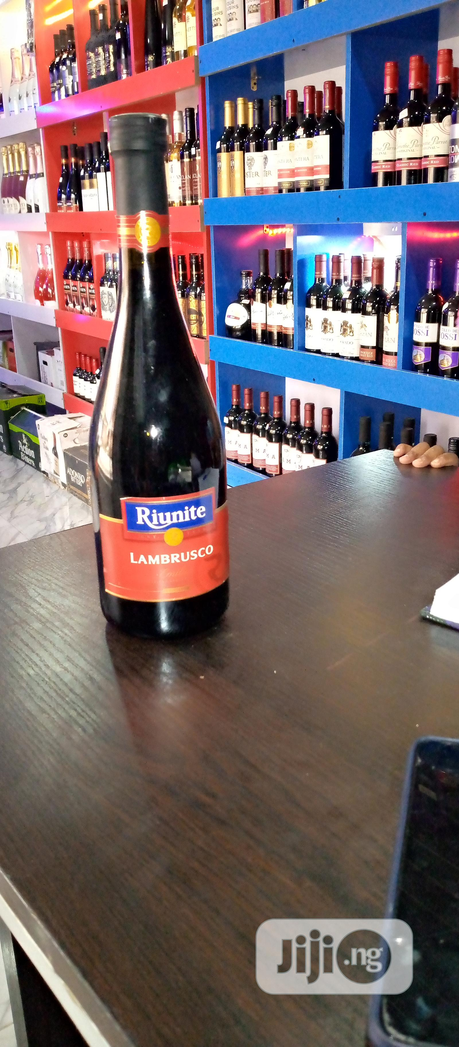 Lambrusco Red Wine