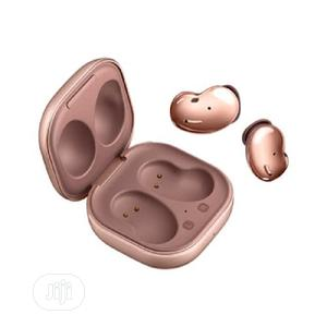 Samsung Galaxy Bud Live- Wireless Earbuds - Mystic Bronze   Headphones for sale in Lagos State, Ikeja