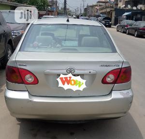 Toyota Corolla 2004 Sedan Automatic Silver | Cars for sale in Lagos State, Surulere
