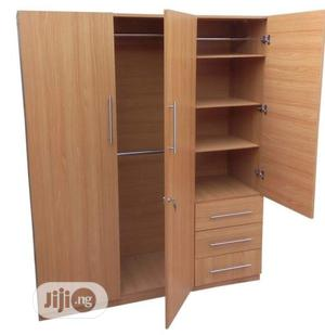 Elegant 3 Doors Standard Wardrobe - (Delivery Only In Lagos)   Furniture for sale in Lagos State, Victoria Island