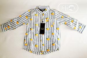 High Quality Short Sleeve Shirt for Boys   Children's Clothing for sale in Lagos State, Ikeja