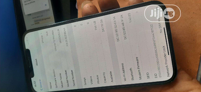 Apple iPhone 12 Pro Max 256GB Blue   Mobile Phones for sale in Ikeja, Lagos State, Nigeria