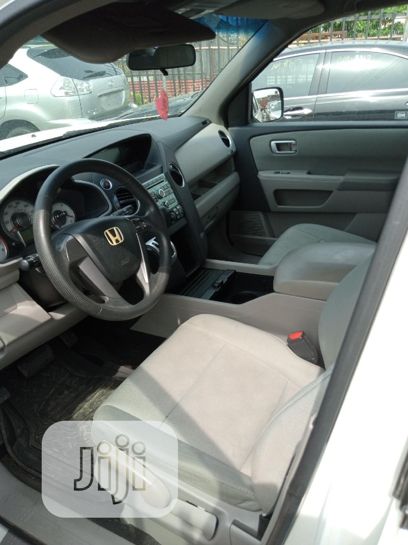 Honda Pilot 2009 White | Cars for sale in Ikeja, Lagos State, Nigeria