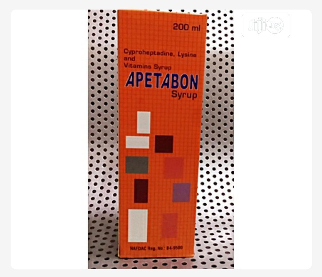 Apetabon Syrup (Apetamin)