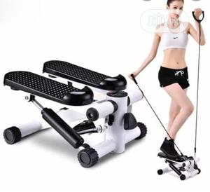 Mini Stepper With Resistance Band | Sports Equipment for sale in Lagos State, Surulere