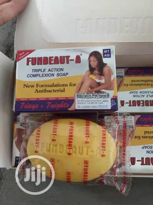 Funbeauty Triple Action Complexion Soap   Bath & Body for sale in Lagos State, Ojo