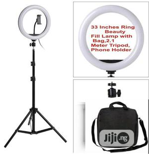 33CM Ring Light With Bag Tripod Makeup Box With Compartments   Accessories & Supplies for Electronics for sale in Lagos State, Ikeja