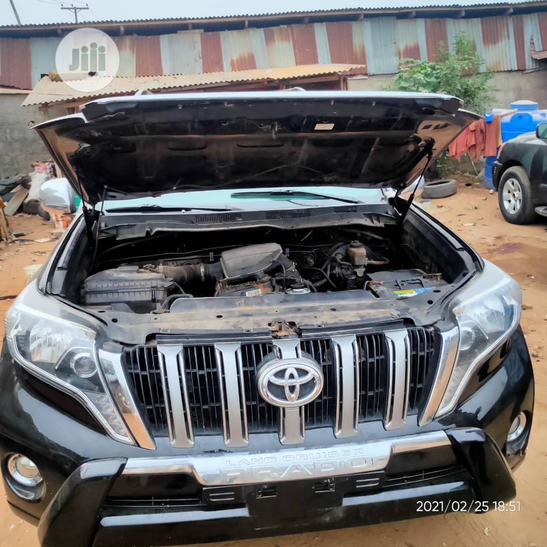 Toyota Land Cruiser Prado 2006 GXL Black | Cars for sale in Ikotun/Igando, Lagos State, Nigeria